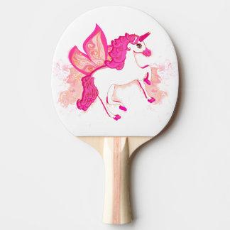 unicorn logo Ping Pong Paddle