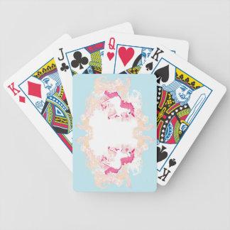 unicorn logo Playing Cards