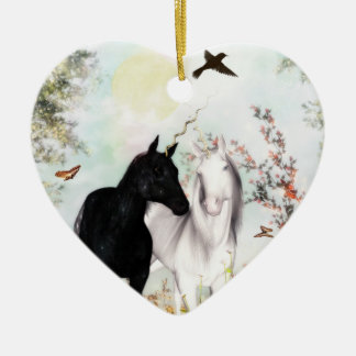 Unicorn love Orniment Christmas Ornament