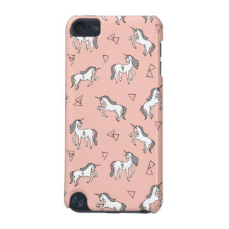 Unicorn Love - White On Pale Pink / Andrea Lauren iPod Touch 5G Case