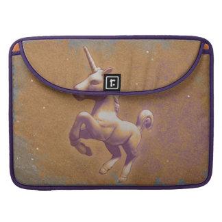 Unicorn Macbook Sleeve (Metal Lavender) Sleeves For MacBooks
