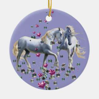 Unicorn Magic Christmas Ornament