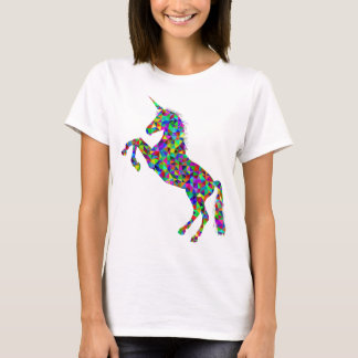 Unicorn Magic Colorful Rearing Women's T-Shirt