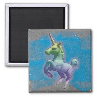 Unicorn Magnet - Round or Square (Blue Nebula)