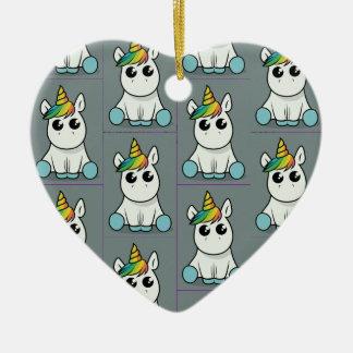 Unicorn Merry Christmas Christmas Ornament