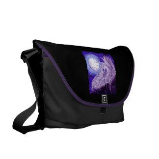Unicorn Moon Messenger Bag