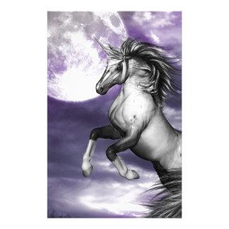 Unicorn Moon Personalised Stationery