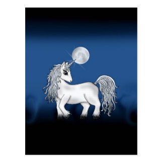 Unicorn Moon Postcard