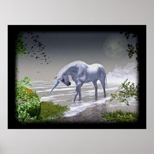 Unicorn Moon Posters