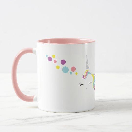 Unicorn Mug Pink