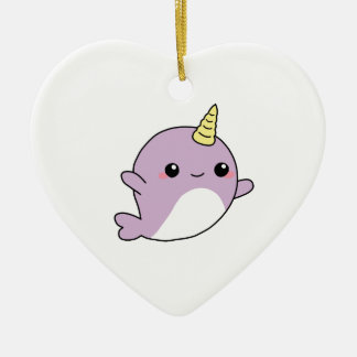 UNICORN NARWHAL shirts, accessories, gifts Christmas Ornament