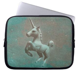 Unicorn Neoprene Laptop Sleeve (Teal Steel)