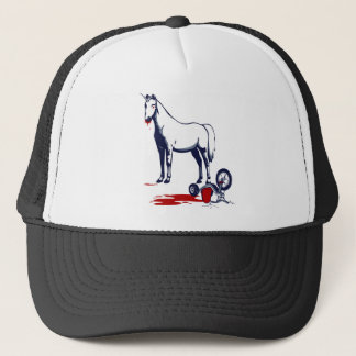 Unicorn of Death Trucker Hat