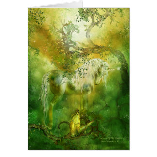 Unicorn Of The Forest ArtCard Greeting Cards