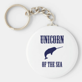 Unicorn of the Sea (Narwhal) Key Ring