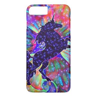 UNICORN OF THE UNIVERSE multicolored iPhone 8 Plus/7 Plus Case
