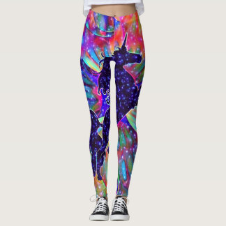 UNICORN OF THE UNIVERSE multicolored Leggings