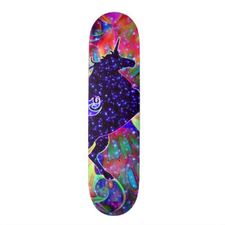 UNICORN OF THE UNIVERSE multicolored Skate Boards