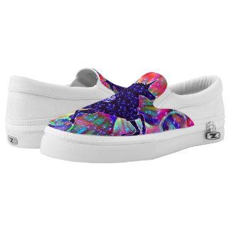 UNICORN OF THE UNIVERSE multicolored Slip-On Shoes