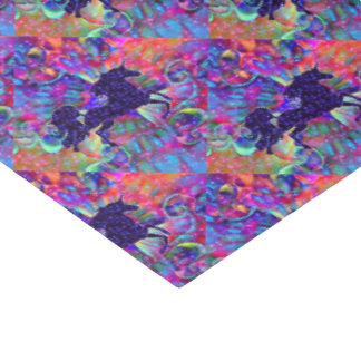 UNICORN OF THE UNIVERSE multicolored Tissue Paper