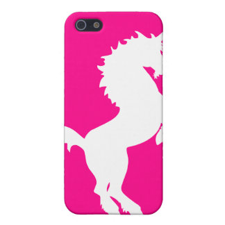 Unicorn on bright pink background iphone case iPhone 5/5S covers