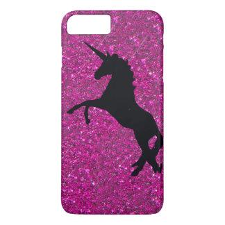 unicorn on pink glitter iPhone 8 plus/7 plus case