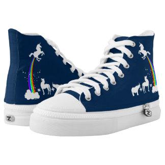 Unicorn origin high tops