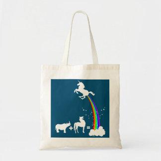 Unicorn origin tote bag