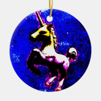 Unicorn Ornament - Circle (Punk Cupcake)