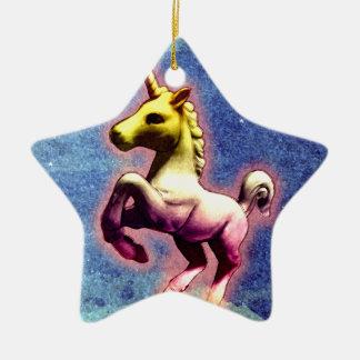 Unicorn Ornament - Star (Galaxy Shimmer)
