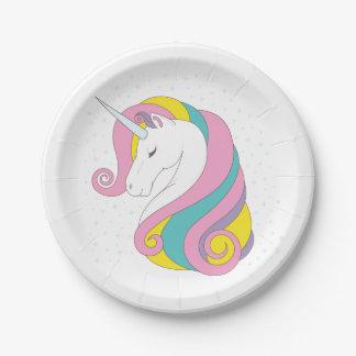 Unicorn Paper Plates