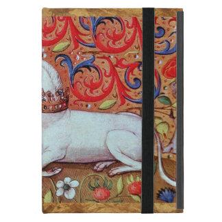 UNICORN PARCHMENT MONOGRAM COVERS FOR iPad MINI