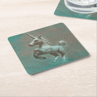 Unicorn Party Coasters (Teal Steel)