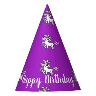 Unicorn party hats, kawaii unicorn party hat