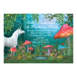 Unicorn Party Invitations