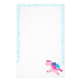 Unicorn Party Stationery