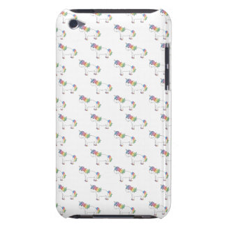 Unicorn pattern barely there iPod cover