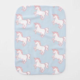 Unicorn Pattern Burp Cloth