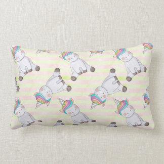 Unicorn Pattern Lumbar Cushion
