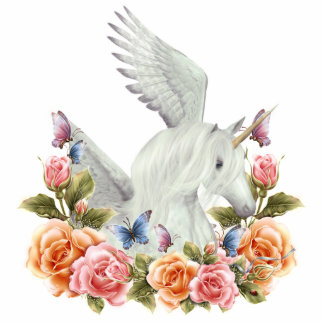 Unicorn Pegasi Beauty Photo Sculpture