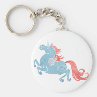 Unicorn Pegasus Key Ring