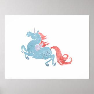 Unicorn Pegasus Poster