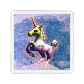 Unicorn Perfume Tray (Burnt Blue)