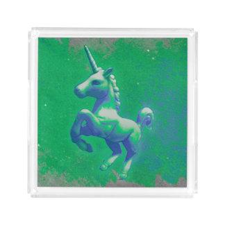 Unicorn Perfume Tray (Glowing Emerald)