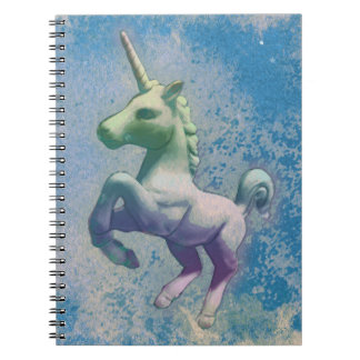 Unicorn Photo Notebook 80 Pages (Blue Arctic)
