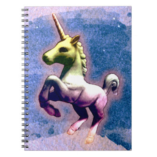 Unicorn Photo Notebook 80 Pages (Burnt Blue)