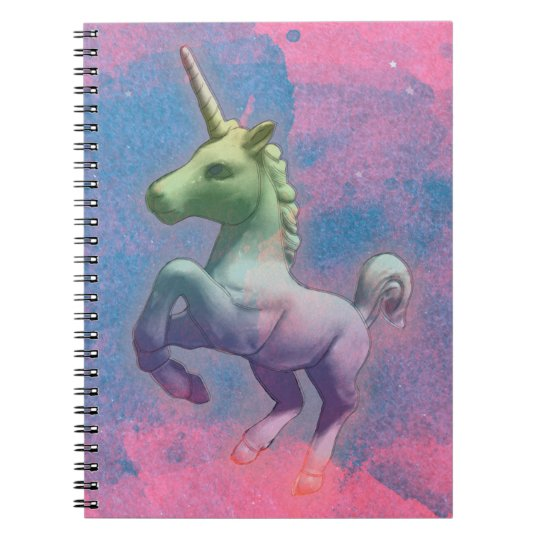 Unicorn Photo Notebook 80 Pages (Cupcake Pink)