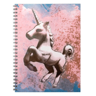 Unicorn Photo Notebook 80 Pages (Faded Sherbet)