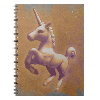 Unicorn Photo Notebook 80 Pages (Metal Lavender)