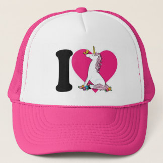 Unicorn Pink  Trucker Hat